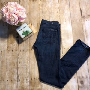 7 for All Mankind Straight Leg Jeans- Size 25